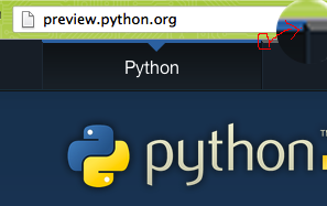 new(preview) python site